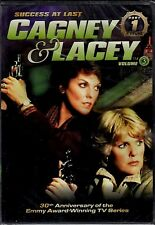 NEW 3DVD SET-  CAGNEY & LACEY - SUCCESS AT LAST - Tyne Daly , Sharon Gless - S3