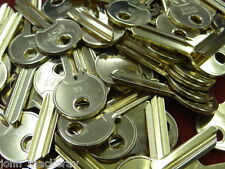 50 OFF UL1  (UNV5B)  NEW   BLANK  BRASS CYLINDER  KEYS