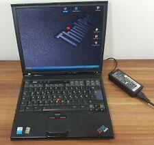 Windows XP Business Notebook IBM Thinkpad T40 USB 1,5GHz Ati Rad. 80GB 1GB