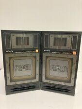 Sony APM-D750 Bookshelf speakers Tested