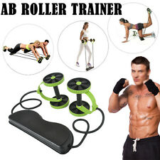 Home Gym Abs Roller Exercise Body Fitness Abdominal Trainer Workout Machine