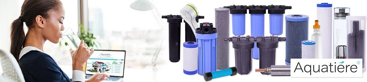 Aquatiere superwater sotto Lavello Filtro acqua potabile EN: