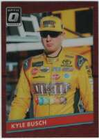 2019 Panini Donruss Racing Optic Red Wave Prizm #78 Kyle Busch