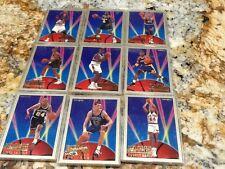 1993-94 fleer rookie sensation 9 card lot