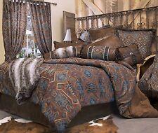 Saguaro Desert Southwest Queen 5-Piece Rustic Lodge Bedding Ensemble