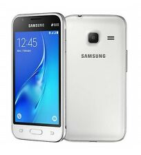 Samsung GALAXY j1 MINI WHITE BIANCO j105h DUOS DUAL SIM sm-j105h senza SIM-lock NUOVO