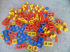 Mobilo Construction Set Educational Toy Resources Bundle 100 plus pieces