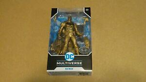 Batman (2020 McFarlane) DC Multiverse Figure RARE PLATINUM EDITION   BRAND NEW