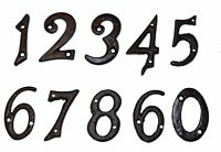 Door / House Numbers / Numerals in Black Cast Iron 54mm SPECIAL OFFER (37210-9)