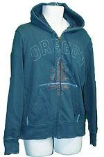 Nike Vintage Pour Homme Oregon Sweat à Capuche Coton Polaire, à capuche Essence Bleu M