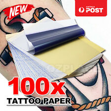 100Pcs 4 layers A4 Size Carbon Stencil Thermal Copier Kit Tattoo Transfer Paper