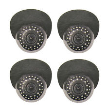4pack High Resolution Indoor 700TVL Camera with Night Vision For Q-See DVR