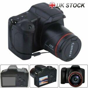 Digital Camera Vlogging Video Camera SLR Camera 3.0 Inch 16x Zoom 1080P Ultra HD