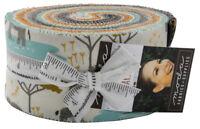 "Moda Safari Life Jelly Roll 2.5"" Fabric Quilting Strips 20640JR, J11"