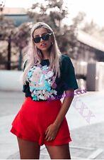 Zara Alice In Wonderland T Shirt Charcoal Grey M Medium 10 New