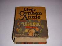 Little Orphan Annie and $1,000,000 Formula, Big Little Book BLB #1186, 1936, VG+