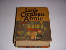 Little Orphan Annie and $1,000,000 Formula, Big Little Book BLB #1186, 1936, VG+