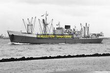 mc1538 - Palm Line Cargo Ship - Badagry Palm , built 1956 - photo 6x4