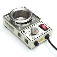 150W 220V Solder Pot Soldering Desoldering Bath 50mm ST-21C 450 Degree Max NEW
