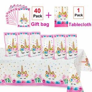 Bolsas Para Dulces De Cumpleaños De Circo Unicornio Para Fiesta De Niños Niñas