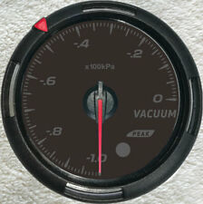 "Vacuum Gauge With sender,-100-0Kpa, 2-3/8""/60mm, 64 backlight Colors For Car 12V"