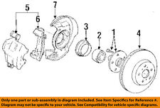 TOYOTA OEM 90-91 Celica Front Brake-Disc Brake Rotor And Hub Assembly 4350220090