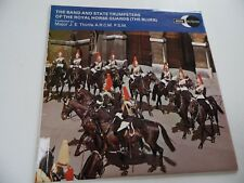 "THE BAND & STATE TRUMPETERS OF THE ROYAL HORSE GUARDS.12"" 33rpm VINYL LP RECORD."