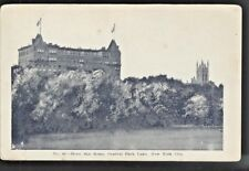 c1900 Two tower Hotel San Remo 145 CPW Central Park New York City NY Postcard