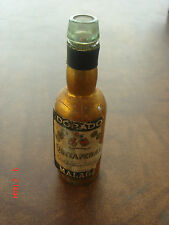 Vintage Rare Mini Miniature Liquor Bottle Dorado Quitapenas (empty)