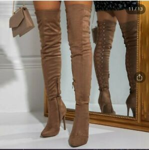 Womens over the knee boots size 8.  Never Worn