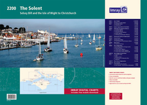 Imray 2200 The Solent charts (Selsey Bill & the Isle of Wight to Christchurch)