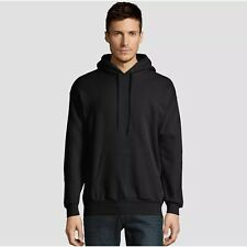 Hanes EcoSmart Fleece Men's Hooded Sweatshirt 2XL - Black