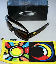 OAKLEY HOLBROOK VALENTINO ROSSI VR46 EDITION BLACK W/ GREY LENS SUNGLASSES