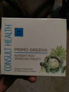 Consult health Primo Greens nutrient Rich sparkling tablets