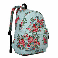 GIRLS BOYS RETRO BACKPACK SCHOOL RUCKSACK LAPTOP/TRAVEL/WORK BAG