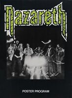 NAZARETH 1979 NO MEAN CITY TOUR POSTER PROGRAM CONCERT BOOK / NMT 2 MINT