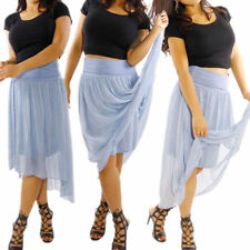 Knee-Length Cocktail A-Line Skirts for Women