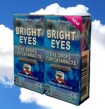 Ethos Bright Eyes N-Acetyl-Carnosine Eye drops for Cataracts 2 Boxes 20ml