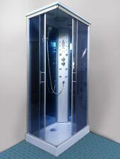 Box idromassaggio 100x70 angolare 6 idrogetti telefono vivavoce cromoterapia|034