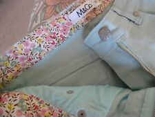M & Co Mint Green 3/4 trousers size 10
