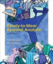 Ready-to-Wear Apparel Analysis (4th Edition) by Brown, Patty, Rice, Jannett