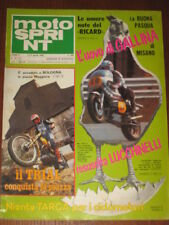 MOTOSPRINT 1980/15 VALENTINO ROSSI FANTIC 125 CROSS '80