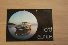 FORD TAUNUS BROCHURE / PROSPEKT 1970