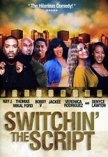 Switchin the Script (DVD, 2012) Ray J Jackee Thomas Mikal Ford Denyce Lawton New