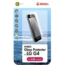 Krusell Nybro LG G4 GLASS Screen Protector 60233 **NEW**