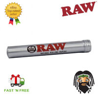 RAW Aluminium King Cone Holder Tube - Pre Rolled Stash Smell Proof Storage