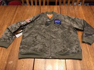 Nike NFL Women's Buffalo Bills Salute Service Camo Jacket AT7863-222 Size 2XL🔥