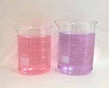 Beaker Set 2000 3000 Ml Griffin Graduated Borosilicate Glass Beakers Lab New