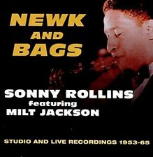 MILT JACKSON/SONNY ROLLINS - NEWK AND BAGS: STUDIO AND LIVE, 1953-1965 NEW CD