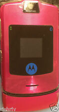 "MOTOROLA RAZR V3i MOBILE IN SILVER-FULLY UNLOCKED EXCEPT ""3"" -UK SELLER"